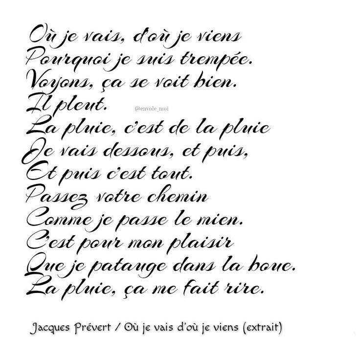 25+ best ideas about Poeme De Prevert on Pinterest