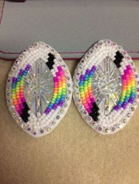 25+ best ideas about Beaded earrings native on Pinterest