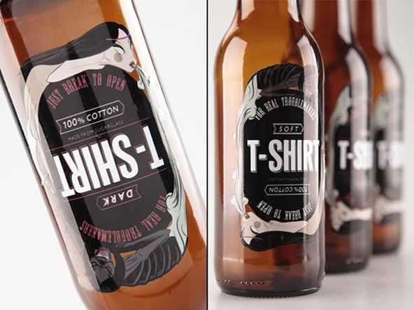 25 Creative T Shirt Packaging Design Examples