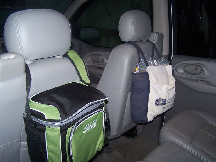 I used a hard sided cooler to hold all my kids electronic gadgets, and a soft si