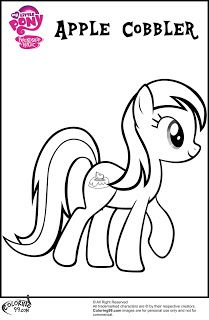 17 Best images about mlp coloring pages on Pinterest