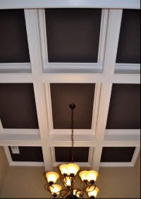 17 Best images about Coffered Ceiling on Pinterest | Paint ...