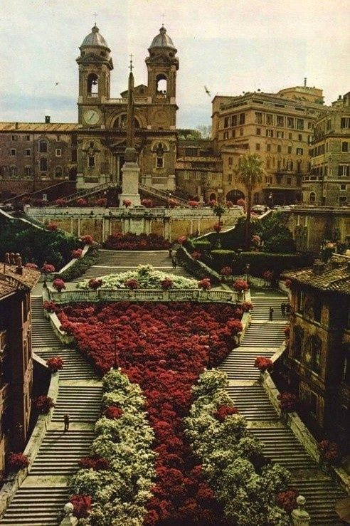 The Spanish Steps, Rome, Italy Sitting on the Spanish Steps and soaking in every