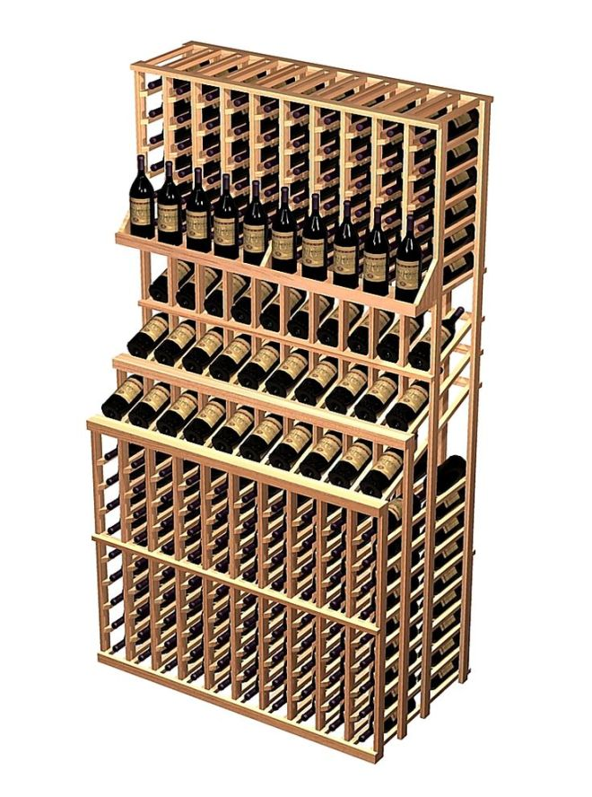 diy wood wine rack cabinet