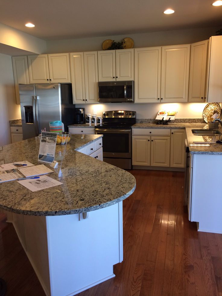 Model kitchen Rome Ryan Homes  Kitchen  Pinterest