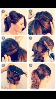 diy 50s hair fashion