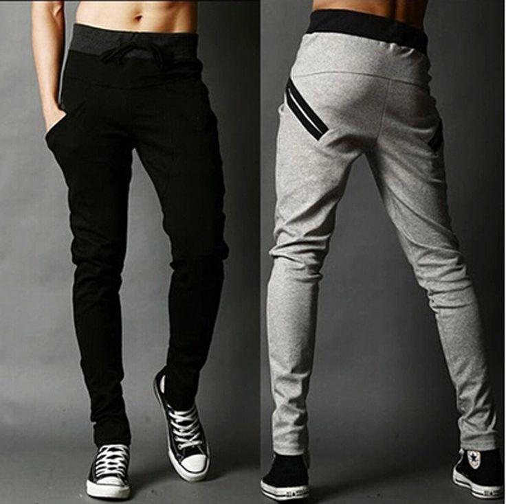 nouveaux hommes joggers mode sarouel pantalon hip hop slim fit pantalon hommes pour jogging danse