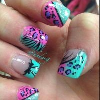 25+ best ideas about Zebra acrylic nails on Pinterest ...