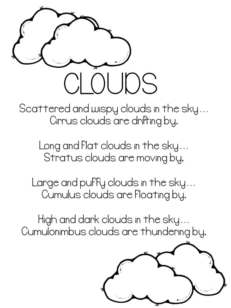 25 Best Ideas About Kinds Of Clouds On Pinterest Types