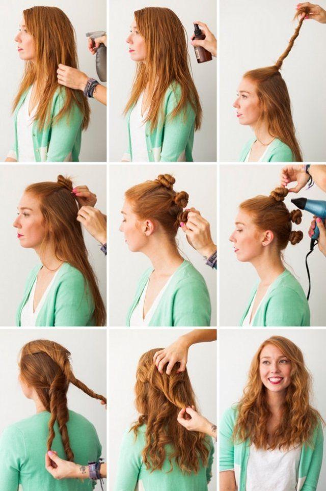 Die Besten 25 Haare Selber Flechten Ideen Auf Pinterest