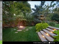Split level backyard and fire pit. | Backyard | Pinterest ...