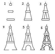 25+ best ideas about Eiffel tower craft on Pinterest
