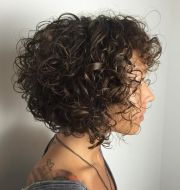 ideas curly bob