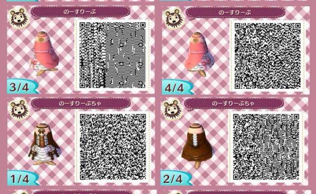 Princess Dress Animal Crossing New Leaf Acnl Qr Code
