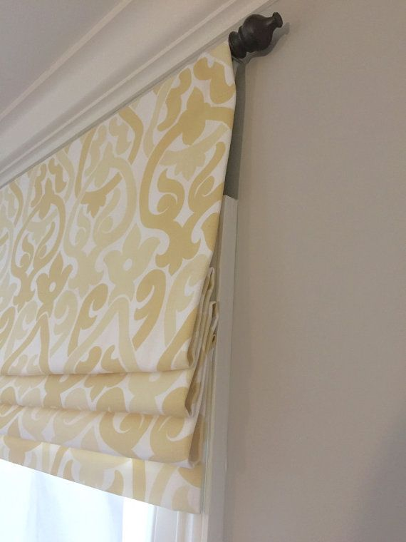 valances for kitchens contemporary kitchen light fixtures faux (fake) flat roman shade valance. your choice of ...