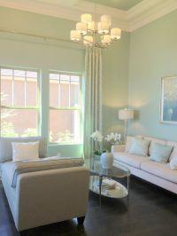 mint living room color