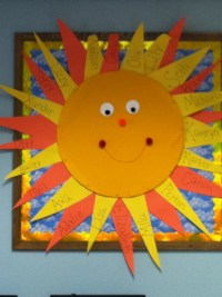 Sun bulletin board | Preschool | Pinterest | Sun, Bulletin ...