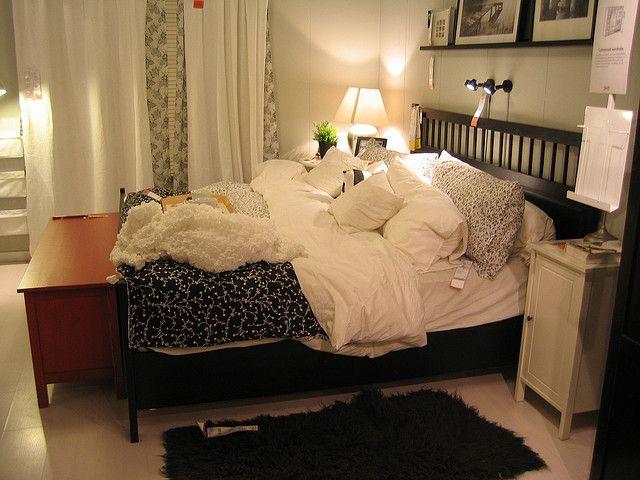 Ikea Bedroom Hemnes Bed Frame Bedrooms Pinterest Blankets Change 3 And Layout