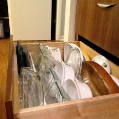 Kitchen Cabinet Inserts Ideas Bench Cushions 9 Best Images About Rv Dishes On Pinterest | Dish Drying ...