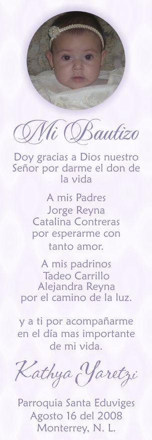 Oraciones Para Nina Para Bautizo