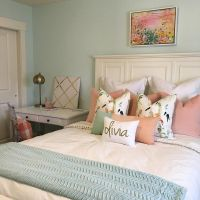 WALL color is Embellished Blue by Sherwin Williams mixed ...