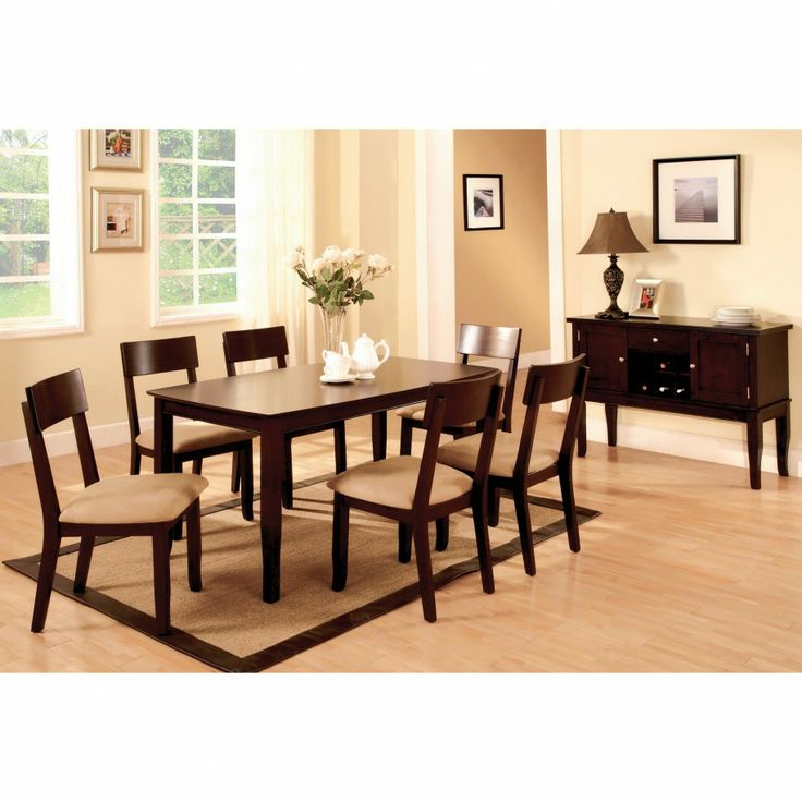 17 Best ideas about Dark Wood Dining Table on Pinterest  Dining room chairs Dinning table and