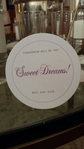 Turn down service amenity  Guest Bedroom Ideas  Pinterest