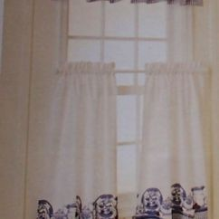 Kitchen Canisters Pottery Cabinet Replacement Blue Willow Pattern Cafe Curtains - Cute | That's So Karen ...