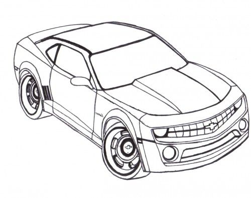 1000+ images about Coloring Pages/LineArt Cars on