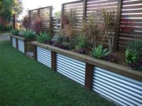 Fence Designs by scenic scapes landscaping. The taller ...