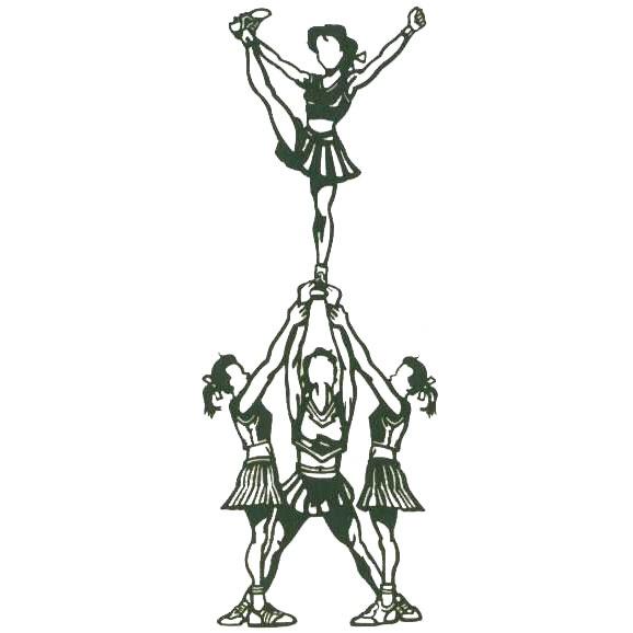 17 Best Ideen zu Cheerleader Pyramiden auf Pinterest