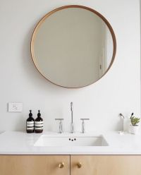 Bathroom Mirrors Round With Amazing Inspirational In ...