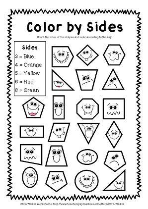 25+ Best Ideas about 2d Shapes Kindergarten on Pinterest