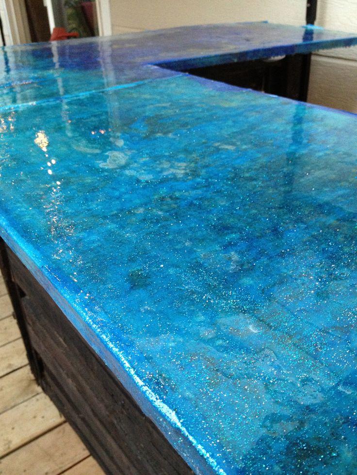 white kitchen buffet islands and carts best 20+ blue countertops ideas on pinterest | ...