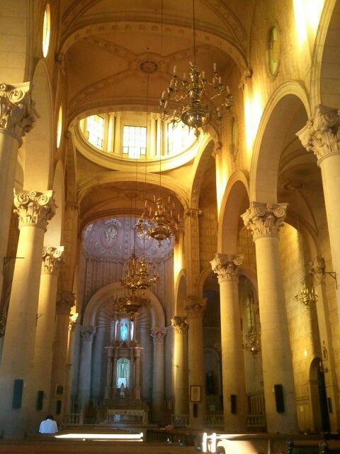 Interior Parroquia de Santiago Apstol en Silao