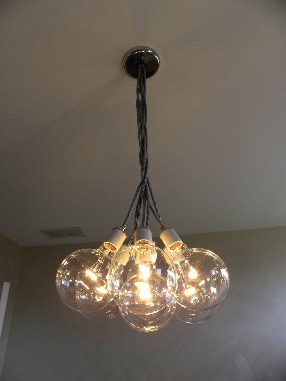 7 Cluster Hanging Light Chandelier Pendant Lighting modern