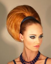 ideas bouffant hairstyles