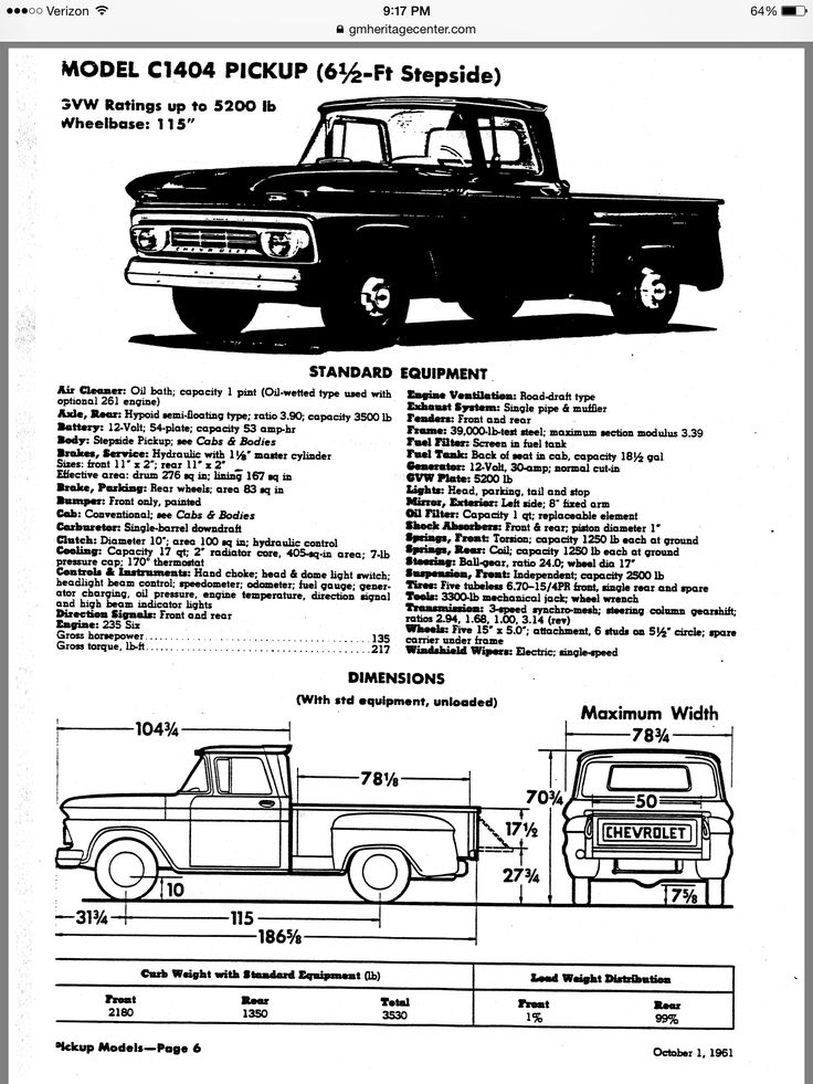 1963 chevy c10 stepside pickup truck