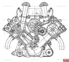 Bentley W12 Engine, Bentley, Free Engine Image For User