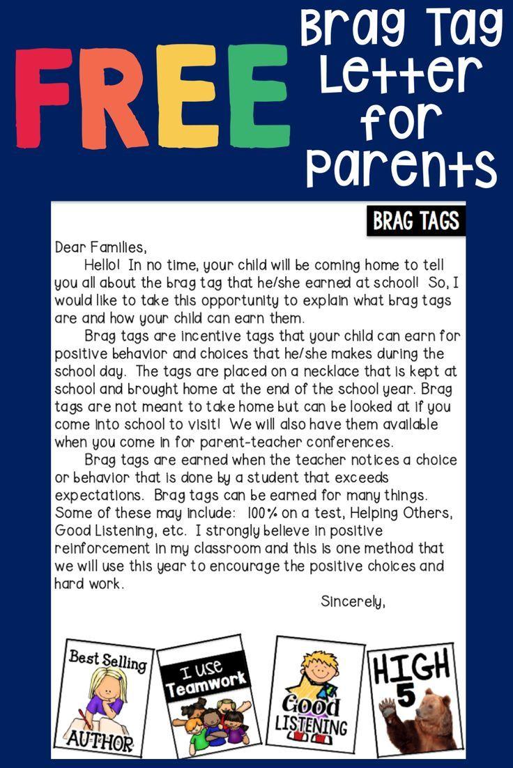 parent conference letters