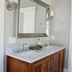 Dark Walnut Kitchen Cabinets Delta Talbott Faucet Stained, Shaker Panel, Bathroom | The W.c ...