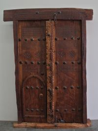Traditional Omani Doors now available @ Showcase Dubai ...