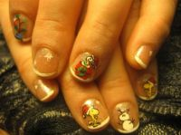Peanuts Christmas - Nail Art Gallery by NAILS Magazine ...
