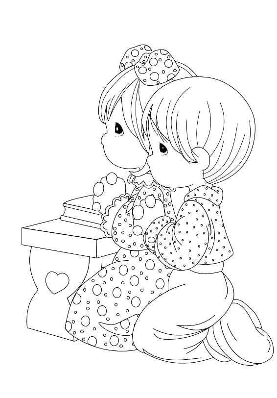 1000+ images about Coloring pages: Precious Moments on