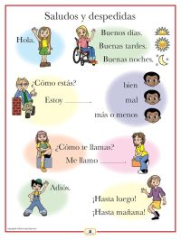 17 Best ideas about Spanish Greetings on Pinterest ...
