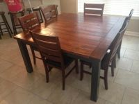 25+ best ideas about Square kitchen tables on Pinterest ...