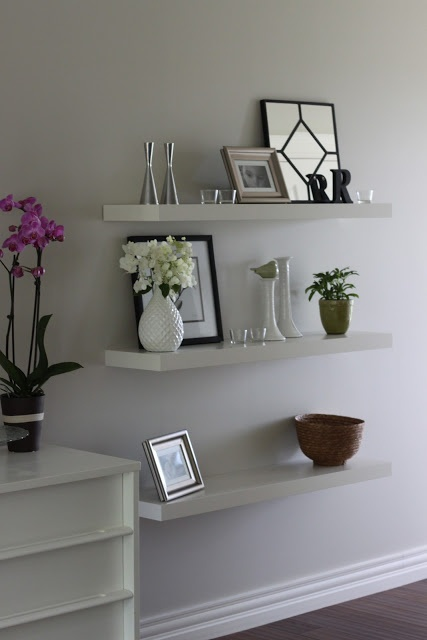 17 Best images about floating shelves dining room on Pinterest  Shelves Master bath and Open