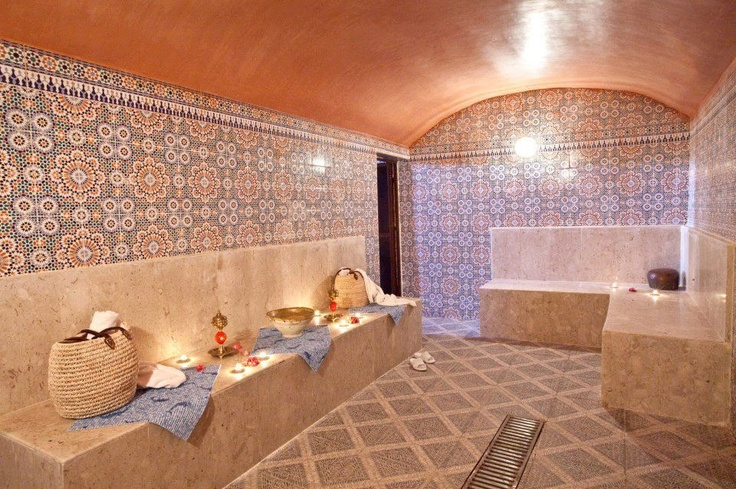 17 Best Images About Moroccan Baths On Pinterest Log Cabin Bathrooms Upholstery And Carpets