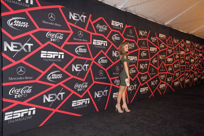 Cool Step And Repeat At Espn The Magazine Next Event
