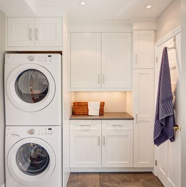 stack washer laundry room ideas  3121 stacked washer and